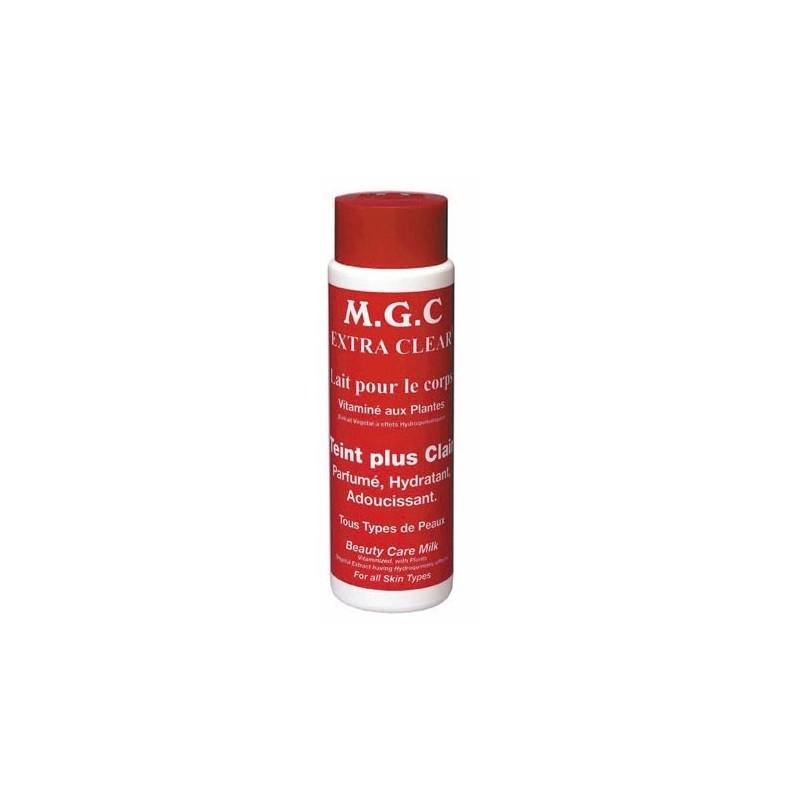 MGC extra clear rouge, Lait pour le corps